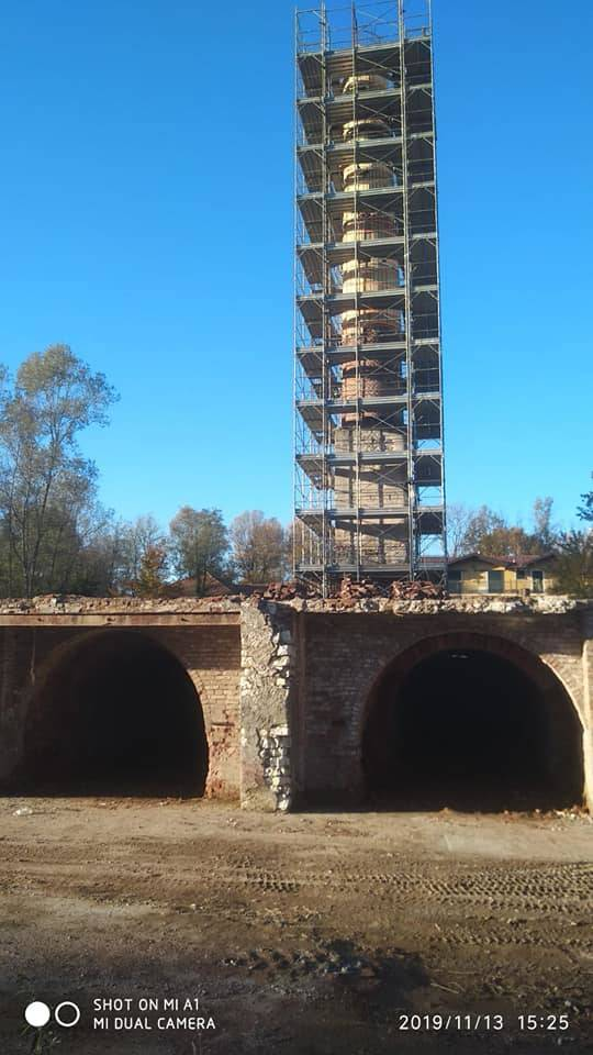 Bonificata l'area dell'ex fornace di Cazzago Brabbia