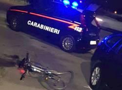 carabinieri notte investimento ciclista