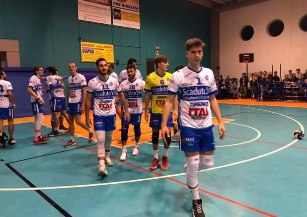 Pro Patria Scaduto DPA vince il derby Varesino di pallavolo maschile di Serie C