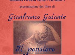"""Presentazione libro \""""Il pensiero soffia ancora\"""" di: Galante Gianfranco"""