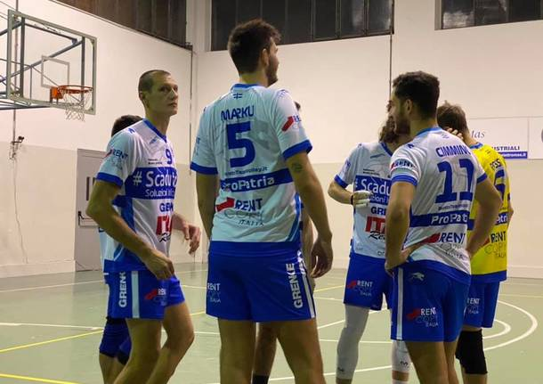 4^ Giornata Serie C Maschile - Girone B - CUS Pavia-CMP - Pro Patria Scaduto DPA 1-3 (20-25; 25-20; 19-25; 20-25)