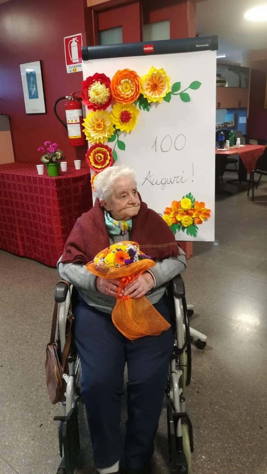 100 anni nonna Camilla