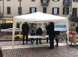 """Il comitato """"Salva via Roma"""" in piazza"""