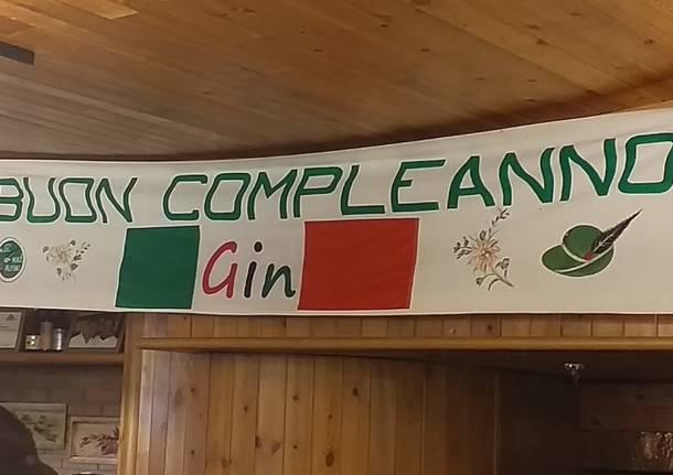 Buon compleanno alpino Gin