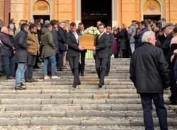 Funerali a Velate del prof Aldo Macchi