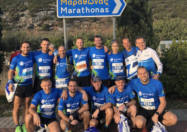 gruppo elmec maratona atene 2019