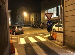 Il cambio di viabilità in via Mazzini e via Postporta
