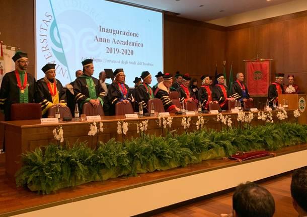 Inaugurazione dell'anno accademico dell'Insubria