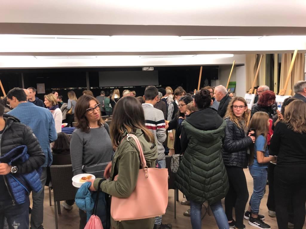 Inaugurazione mostra asilo nido Bossi 'Le manine laboriose'