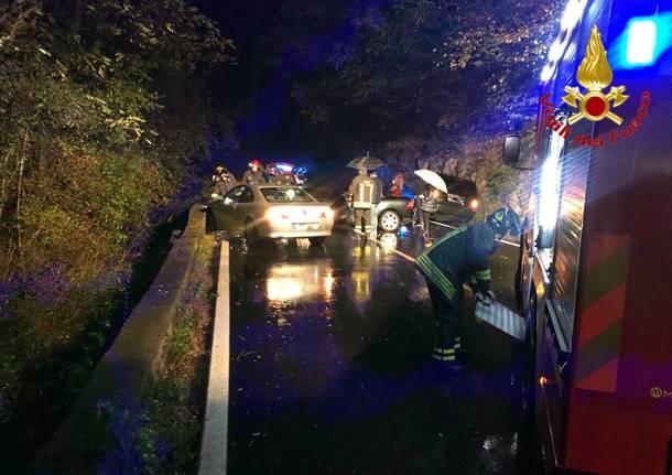 Incidente sulla statale 369, coinvolte tre auto