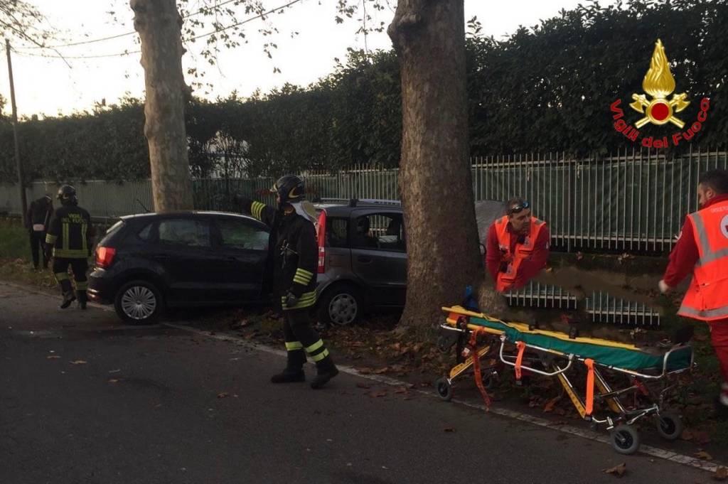 incidente stradale busto