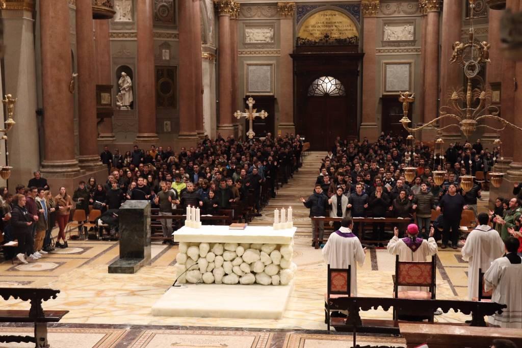 L'arcivescovo Delpini a Gallarate
