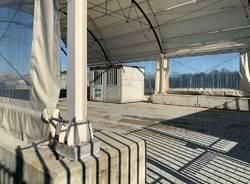 L'Expo Hub in discarica