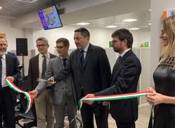 L'inaugurazione dei nuovi sportelli Enerxenia e Acsnm Agam ambiente