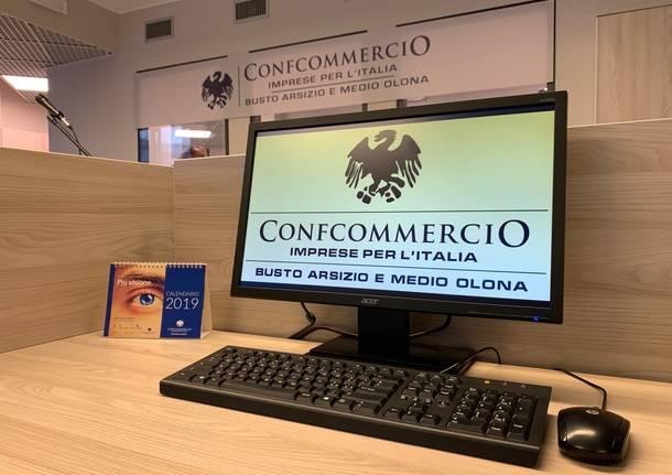 La nuova sede di Confcommercio Ascom di Busto Arsizio