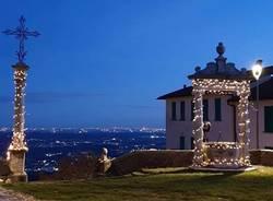 Le luci di Natale al Sacro Monte