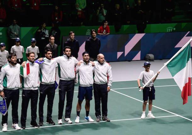 nazionale italiana di tennis coppa davis 2019