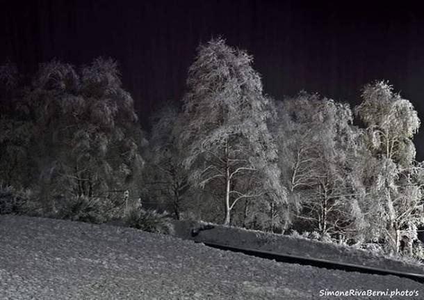 Neve al passo Forcora, Novembre 2019