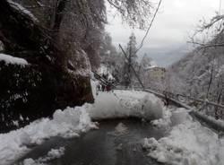 Neve, disagi per il maltempo nelle Valli Ossolane