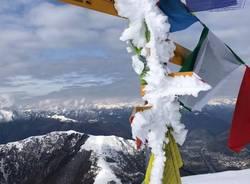 Neve sul Monte Generoso