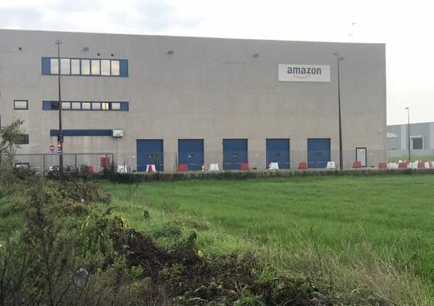 Origgio, in arrivo un parcheggio per i corrieri Amazon