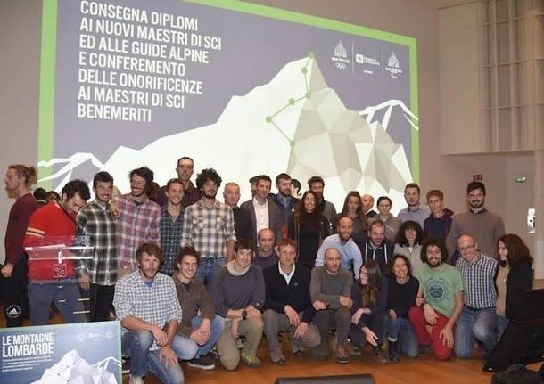 regione lombardia diplomi alpinisti