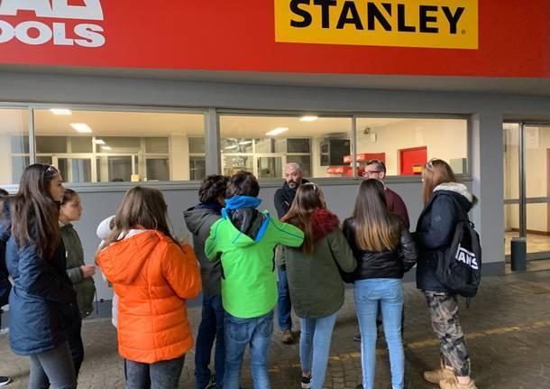 Gli studenti in visita alla SWK Utensilerie