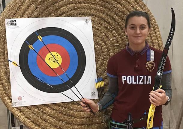 tatiana andreoli record mondiale tiro con l'arco gallarate