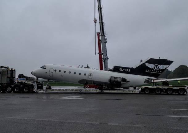 Un nuovo pezzo di Russia a Volandia: ecco l'aereo sovietico Yakovlev Yak-40