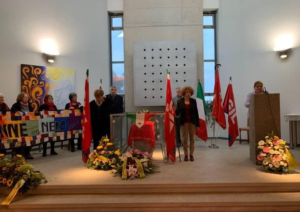 Varese - cerimonia di commiato per Gabriella Sberviglieri