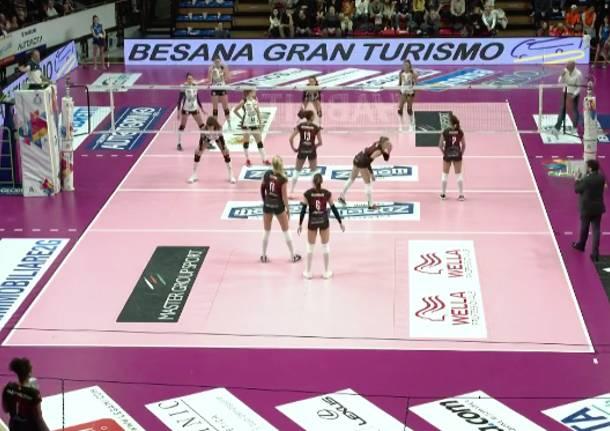 La UYBA vince a Bergamo ed è terzo posto - Varesenews