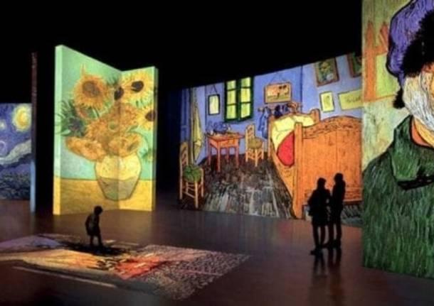 La Mostra Immersiva di Van Gogh, da domani a Salerno