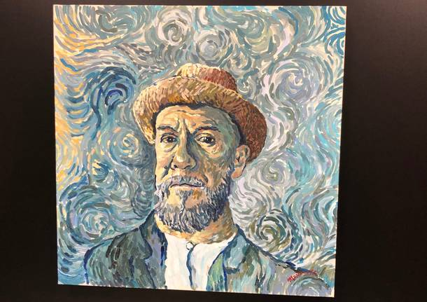 Il vernissage della mostra 'Van Gogh' al World Trade Center di Malpensa