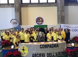 Atleti da tutta Italia per la gara di tiro con l'arco