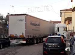 camion incastrato albizzate
