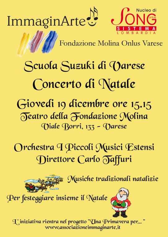 Concerti di Natale con I Piccoli Musici Estensi - Fondazione Molina