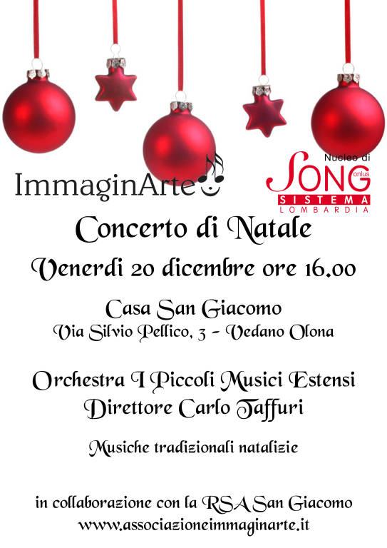 Concerti di Natale con I Piccoli Musici Estensi - Casa San Giacomo