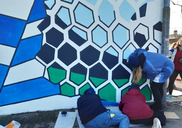 """Il nuovo murales allo \""""Speroni\"""""""