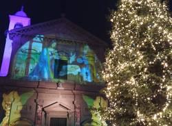 Miss Iryna illumina il Natale di Saronno