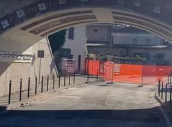 Luino: finiti i lavori sul ponte della ferrovia