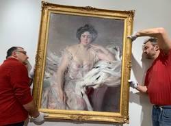 Il dipinto di Giovanni Boldini a Luino
