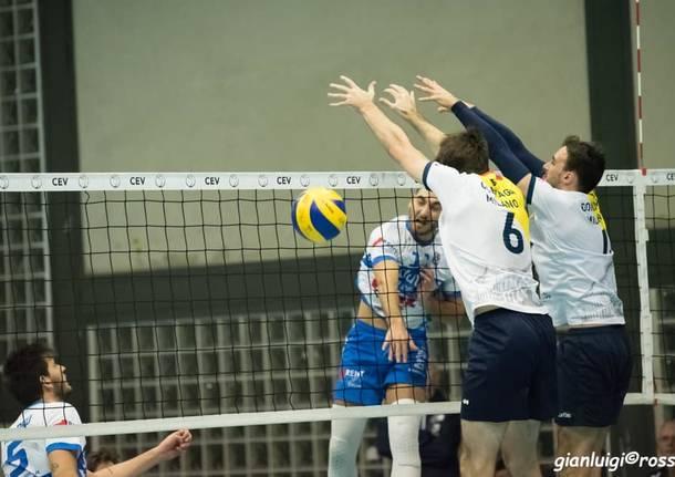Pallavolo maschile Serie C Ottava vittoria su otto partite per la Pro Patria Busto Arsizio