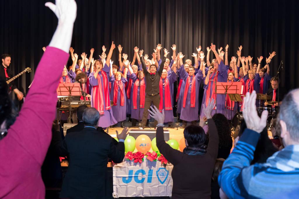 Il concerto Gospel al San Giovanni Bosco