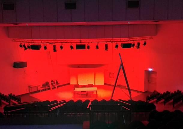 Cislago, nuove luci per l'auditorium
