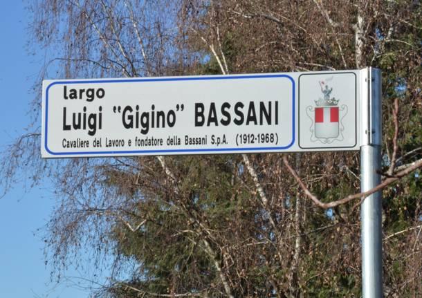 E' nato largo Luigi Bassani - foto Mario Bianchi (Bizzozero.net)