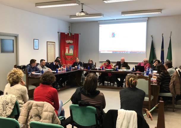 Arsago Seprio consiglio comunale