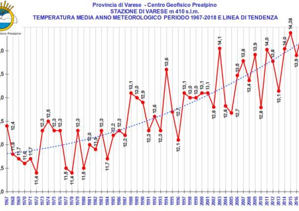 media temperature 2019