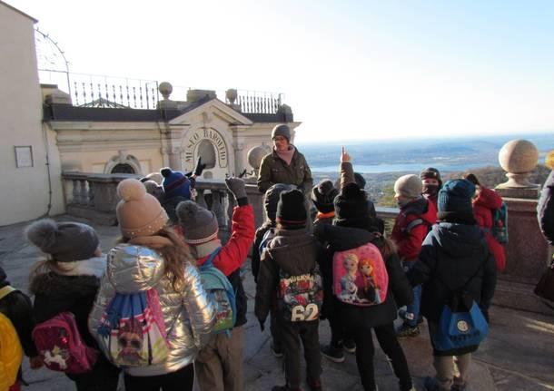Gli alunni della Galilei in gita al sacro Monte