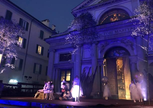 Il Presepe Vivente di Varese in piazza San Vittore, Natale 2019