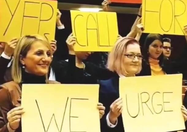 Da Bodio a Bruxelles per parlare di clima